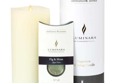 Fragrance Candle with Pod and Pacakging